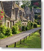 Cotswolds Homes Metal Print