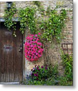 Cotswolds Milk Delivery Metal Print