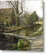 Cotswolds Scene. Metal Print