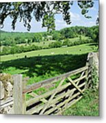Cotswolds Metal Print by Soundimageplus