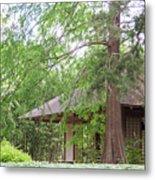 Cottage Orange Island  Louisiana  Metal Print