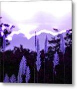 Cotton Candy Sunset 3 Metal Print