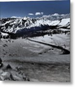 Cottonwood Pass Metal Print