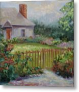 Cottswold Cottage Metal Print