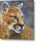 Cougar Metal Print by Debra Mickelson