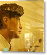 Could Do With A New Haircut Metal Print