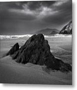 Coumeenoole Beach Metal Print