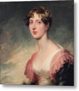 Countess Of Plymouth By Sir Thomas Lawrence Metal Print