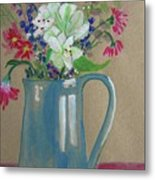 Country Bouquet Metal Print
