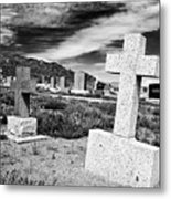 Country Cemetery Metal Print