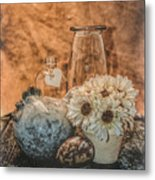 Country Chicken 2 Metal Print