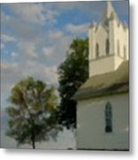 Country Chuch Metal Print