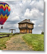 Country Cruising  Metal Print