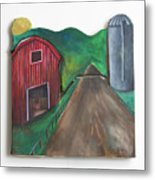 Country Day Metal Print