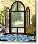 Country Friends Metal Print