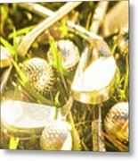 Country Golf Metal Print