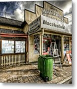 Country Grocer Metal Print