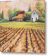 Country Harvest Metal Print