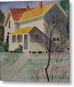 Country Home Metal Print