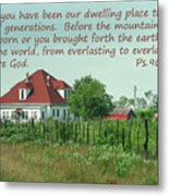 Country Home Ps.90 V 1-2 Metal Print