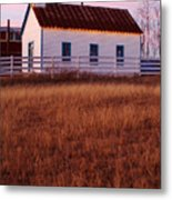 Country House Metal Print