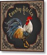 Country Kitchen-jp3764 Metal Print