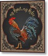 Country Kitchen-jp3767 Metal Print