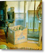 Country Kitchen Sunshine II Metal Print
