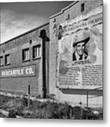 Country Legend Bob Wills In Roy New Mexico Metal Print