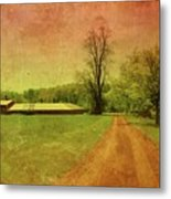 Country Living - Bayonet Farm Metal Print by Angie Tirado