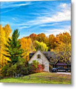 Country Living 2 - Paint Metal Print