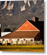 Country Living Boulder County Metal Print