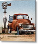 Country Memories Metal Print