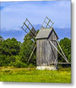 Country Mill Metal Print