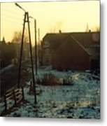 Country Morning Metal Print