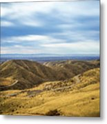 Country Mountain Roads No. 2 Metal Print