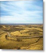 Country Mountain Roads Metal Print