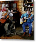 Country Pickin Metal Print