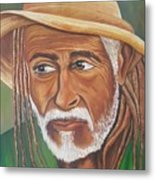 Country Rasta  Metal Print