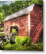 Country Reds Metal Print