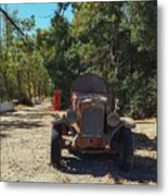 Country Road In California  Metal Print