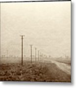 Country Road, Iran Metal Print