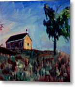 Country School House Metal Print