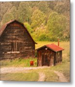 Country Shack Metal Print