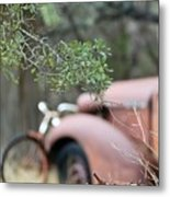 Country Truck Metal Print