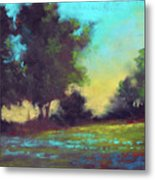 Country Twilight Metal Print