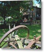 Country Wagon Metal Print
