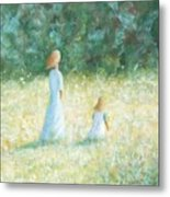 Country Walk Metal Print