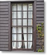 Country Window Metal Print