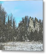 Country Winter 15 Metal Print